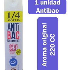 Desinfectante spray antibac 220cc