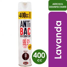 Desinfectantes Antibac aire Lavanda 400cc
