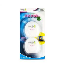 SEDA DENTAL FAMILY SET 2 UNIDADES 50 MTS C/U