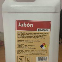 JABÓN INDUSTRIAL 5 LITROS
